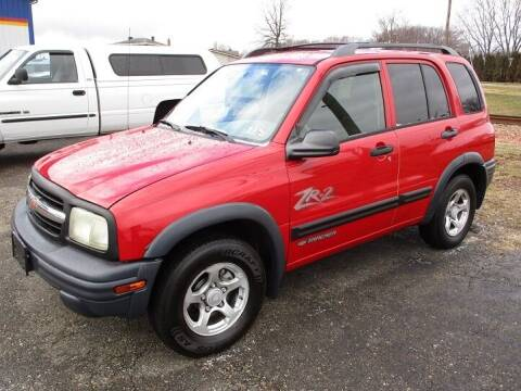 2004 Chevrolet Tracker for sale at Kohmann Motors & Mowers in Minerva OH