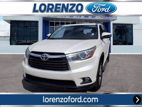 2015 Toyota Highlander for sale at Lorenzo Ford in Homestead FL