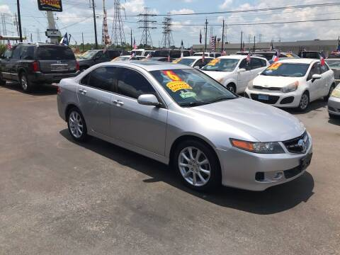 2006 Acura TSX for sale at Texas 1 Auto Finance in Kemah TX