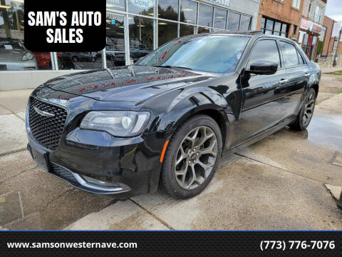 2016 Chrysler 300 for sale at SAM'S AUTO SALES in Chicago IL