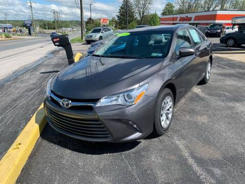 2016 Toyota Camry for sale at Credit Connection Auto Sales Dover in Dover PA