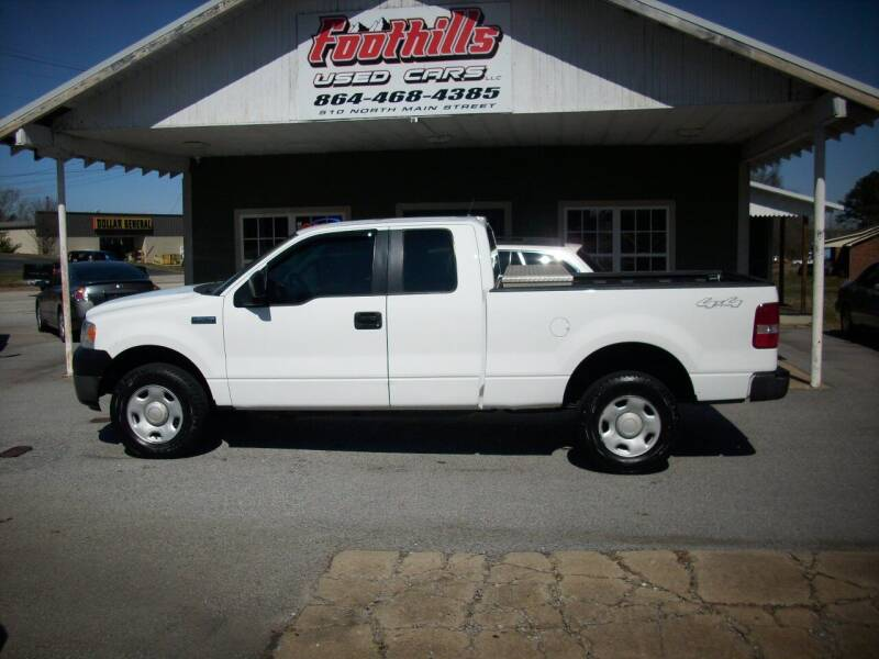 2005 Ford F-150 for sale at Foothills Used Cars LLC in Campobello SC