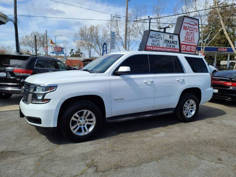 2015 Chevrolet Tahoe for sale at Imports Auto Sales & Service in San Leandro CA