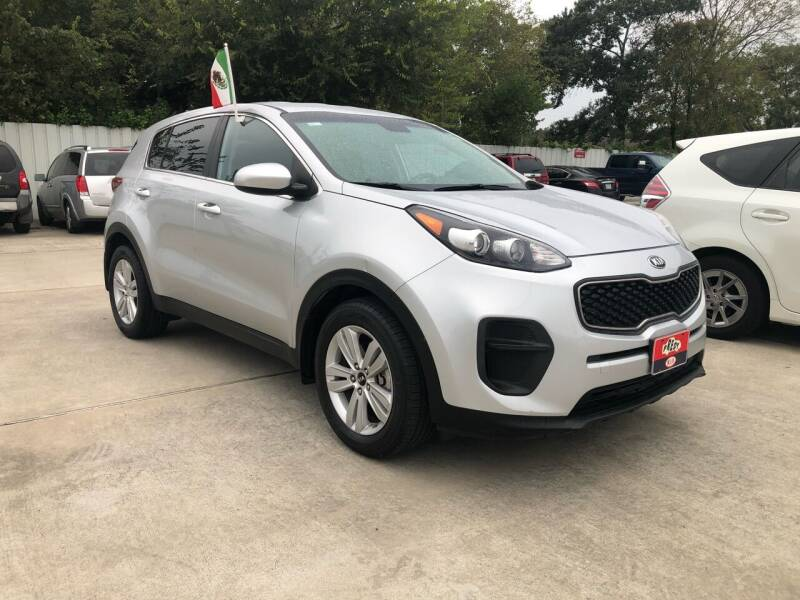 2017 Kia Sportage for sale at FREDY CARS FOR LESS in Houston TX