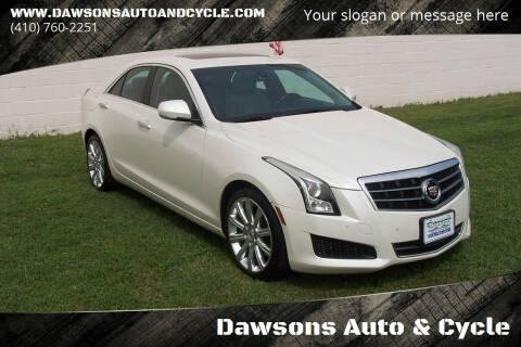 2013 Cadillac ATS for sale at Dawsons Auto & Cycle in Glen Burnie MD