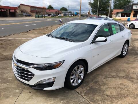 2020 Chevrolet Malibu for sale at BRAMLETT MOTORS in Hope AR