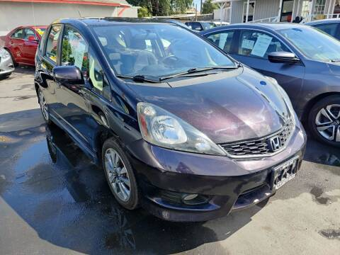 2013 Honda Fit for sale at Rey's Auto Sales in Stockton CA