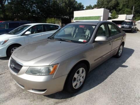 2006 Hyundai Sonata for sale at Deer Park Auto Sales Corp in Newport News VA