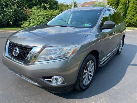 2015 Nissan Pathfinder for sale at Professionals Auto Sales in Philadelphia PA