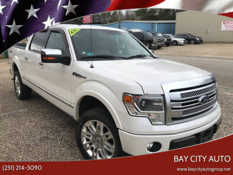 2014 Ford F-150 for sale at Bay City Auto's in Mobile AL