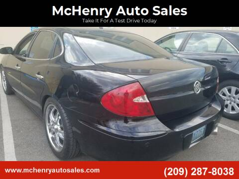 2005 Buick LaCrosse for sale at McHenry Auto Sales in Modesto CA