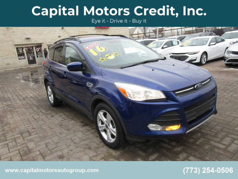 2016 Ford Escape for sale at Capital Motors Credit, Inc. in Chicago IL