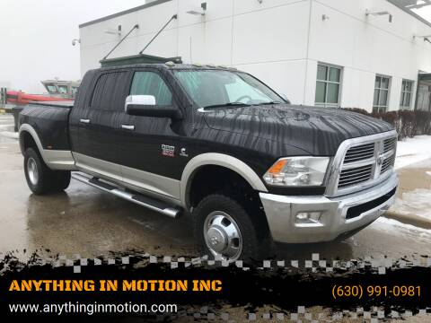 2011 RAM Ram Pickup 3500 for sale at ANYTHING IN MOTION INC in Bolingbrook IL