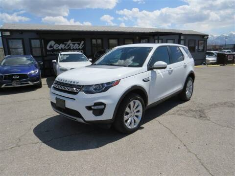 2015 Land Rover Discovery Sport for sale at Central Auto in South Salt Lake UT
