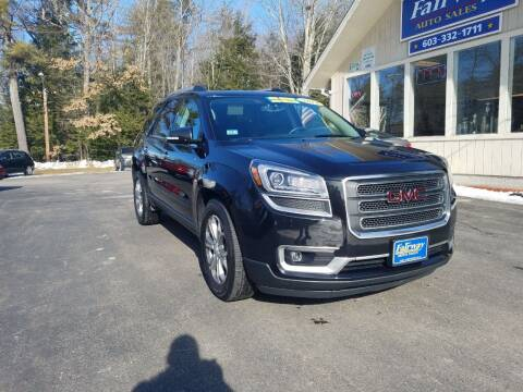 2014 GMC Acadia for sale at Fairway Auto Sales in Rochester NH