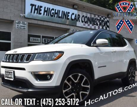 2018 Jeep Compass for sale at The Highline Car Connection in Waterbury CT