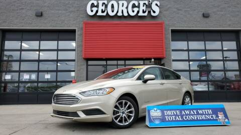 2017 Ford Fusion Hybrid for sale at George's Used Cars - Pennsylvania & Allen in Brownstown MI