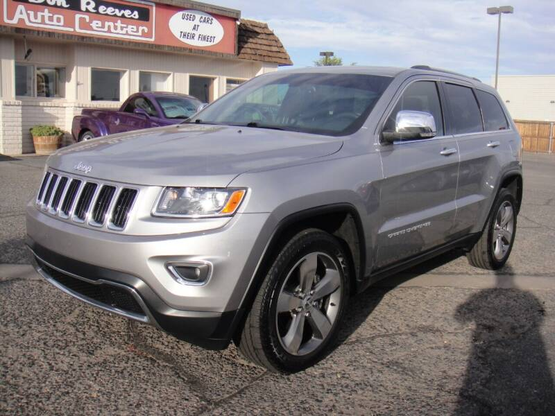 2015 Jeep Grand Cherokee for sale at Don Reeves Auto Center in Farmington NM