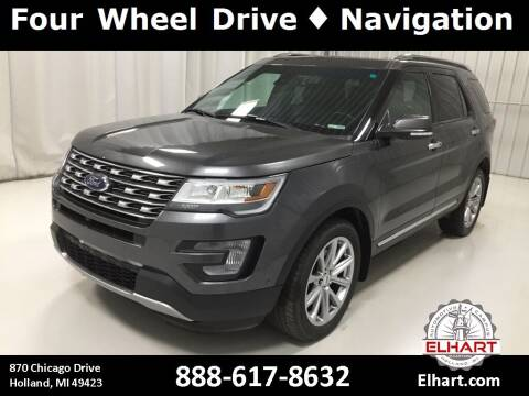 2017 Ford Explorer for sale at Elhart Automotive Campus in Holland MI
