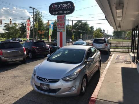 2013 Hyundai Elantra for sale at i3Motors in Baltimore MD
