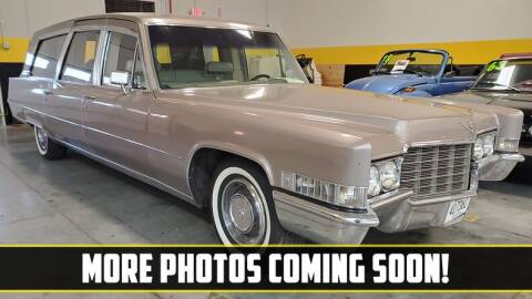 1969 Cadillac ROYALE LIMO STYLE COACH for sale at UNIQUE SPECIALTY & CLASSICS in Mankato MN