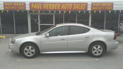 2006 Pontiac Grand Prix for sale at Paul Gerber Auto Sales in Omaha NE