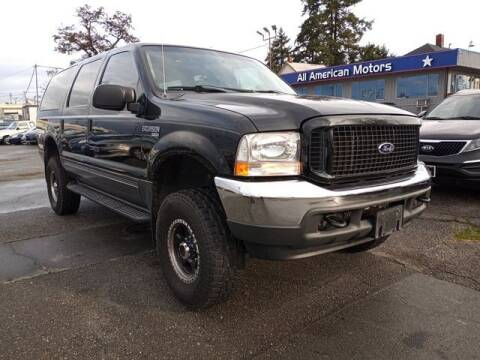 2004 Ford Excursion for sale at All American Motors in Tacoma WA
