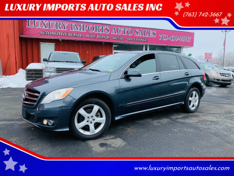 2011 Mercedes-Benz R-Class for sale at LUXURY IMPORTS AUTO SALES INC in North Branch MN