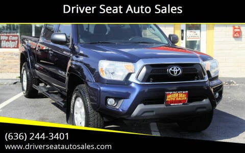 2012 Toyota Tacoma for sale at Driver Seat Auto Sales in St. Charles MO