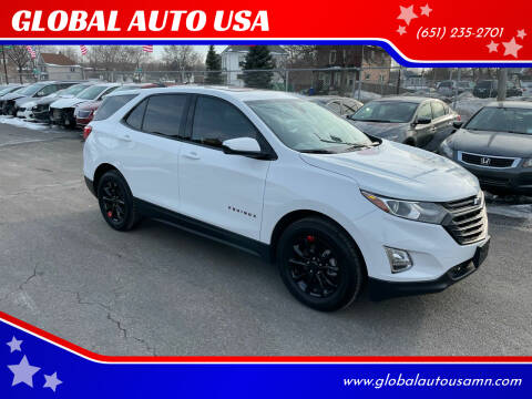 2020 Chevrolet Equinox for sale at GLOBAL AUTO USA in Saint Paul MN