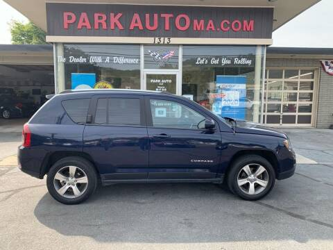 2016 Jeep Compass for sale at Park Auto LLC in Palmer MA