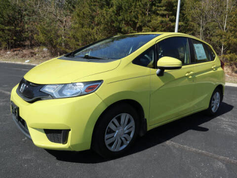 2015 Honda Fit for sale at RUSTY WALLACE KIA OF KNOXVILLE in Knoxville TN
