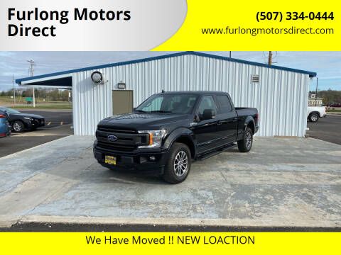 2018 Ford F-150 for sale at Furlong Motors Direct in Faribault MN