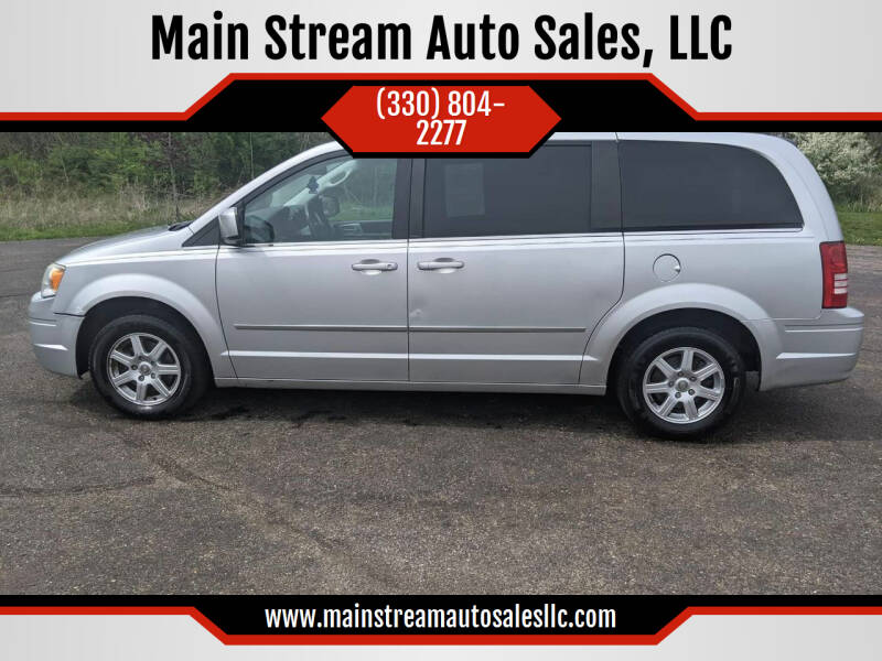 2010 Chrysler Town and Country for sale at Main Stream Auto Sales, LLC in Wooster OH