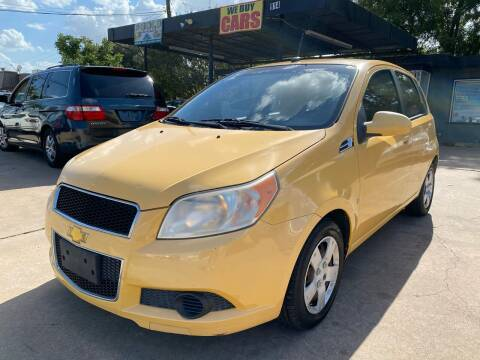 2009 Chevrolet Aveo for sale at Cash Car Outlet in Mckinney TX