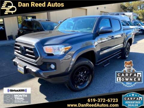2021 Toyota Tacoma for sale at Dan Reed Autos in Escondido CA