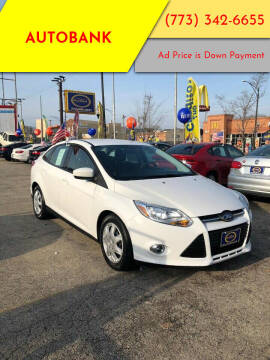 2012 Ford Focus for sale at AutoBank in Chicago IL