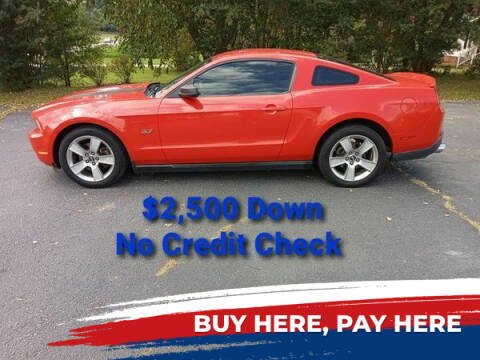 2012 Ford Mustang for sale at BP Auto Finders in Durham NC