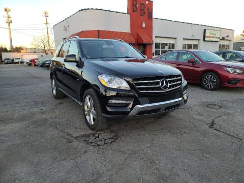 2012 Mercedes-Benz M-Class for sale at Best Buy Wheels in Virginia Beach VA