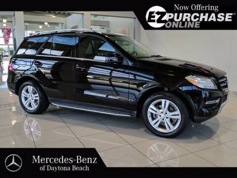 2014 Mercedes-Benz M-Class for sale at Mercedes-Benz of Daytona Beach in Daytona Beach FL