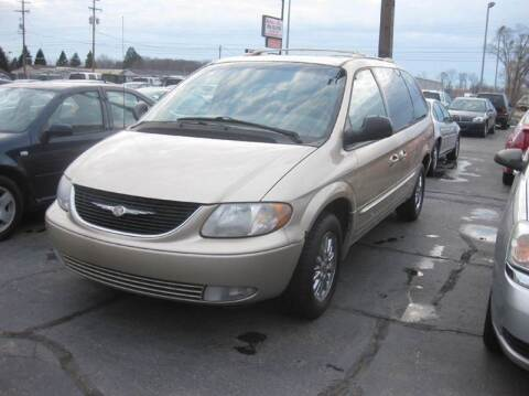 2001 Chrysler Town and Country for sale at All State Auto Sales, INC in Kentwood MI