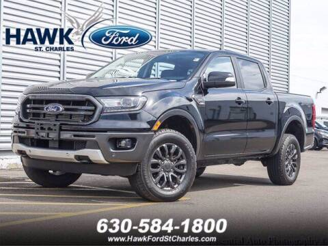 2019 Ford Ranger for sale at Hawk Ford of St. Charles in Saint Charles IL