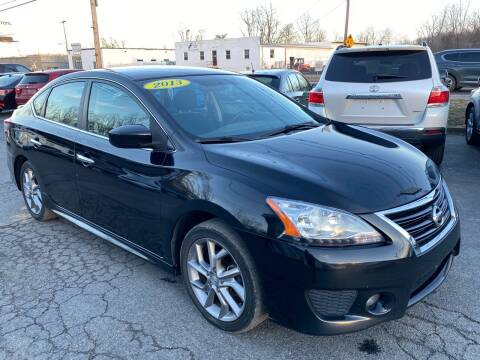 2013 Nissan Sentra for sale at MetroWest Auto Sales in Worcester MA