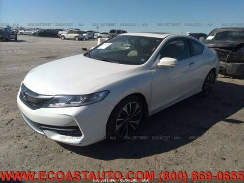 2016 Honda Accord for sale at East Coast Auto Source Inc. in Bedford VA