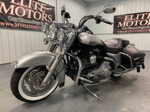 2003 HARLEY DAVIDSON ROAD KING for sale at Elite Motors in Uniontown PA