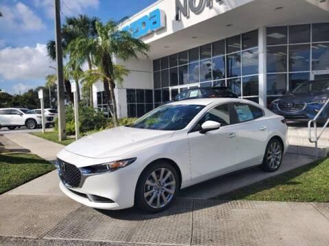2021 Mazda Mazda3 Sedan for sale at Mazda of North Miami in Miami FL