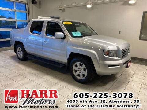 2007 Honda Ridgeline for sale at Harr Motors Bargain Center in Aberdeen SD