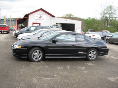 2004 Chevrolet Monte Carlo for sale at TRAIN STATION AUTO INC in Brownsville PA
