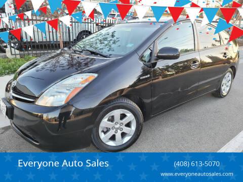 2008 Toyota Prius for sale at Everyone Auto Sales in Santa Clara CA