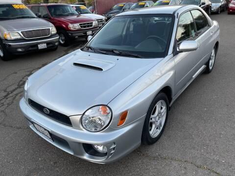 2002 Subaru Impreza for sale at C. H. Auto Sales in Citrus Heights CA